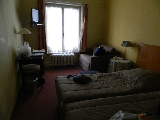 Hans Memling Hotel : habitacion