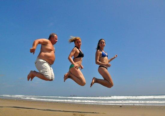 Hostel Viejamar Surf: Saltos felices