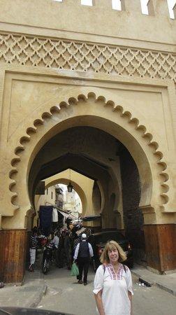 Ryad Mabrouka: Medina Gate