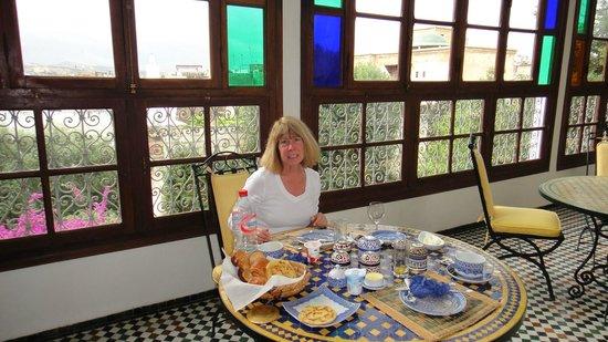 Ryad Mabrouka: Breakfast at Mabrouka