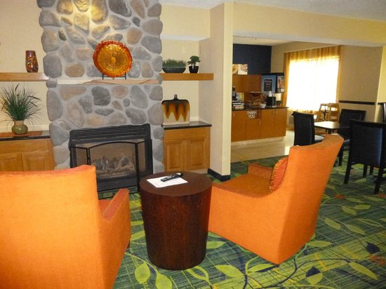 Fairfield Inn & Suites Frankenmuth: Lobby