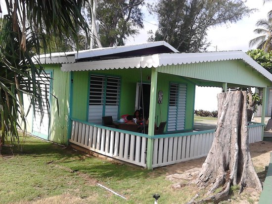 Parador Villas del Mar Hau: mi casita verde