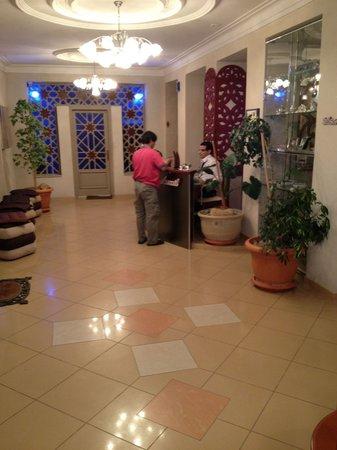 Hotel Belle Vue: Reception