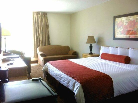 Auberge du Grand Lac : Royal King Room