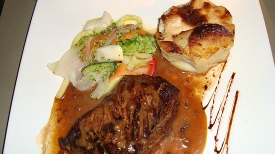 Restaurant Lou Ciapacan : steak