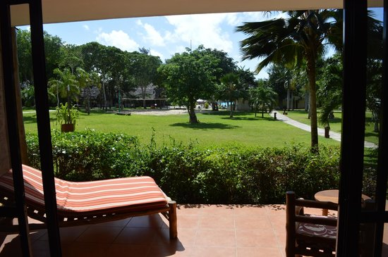 Baobab Holiday Resort: View from our room.