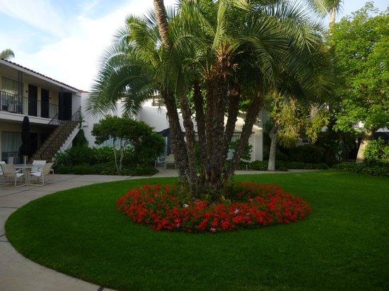 West Beach Inn: El jardin