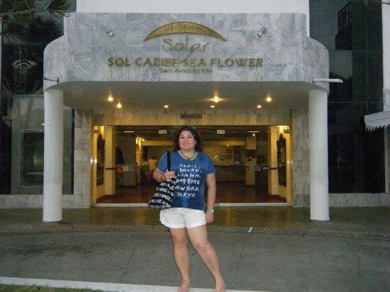 Foto de sol caribe sea flower hotel san andr s hotel sea for Sol caribe sea flower san andres