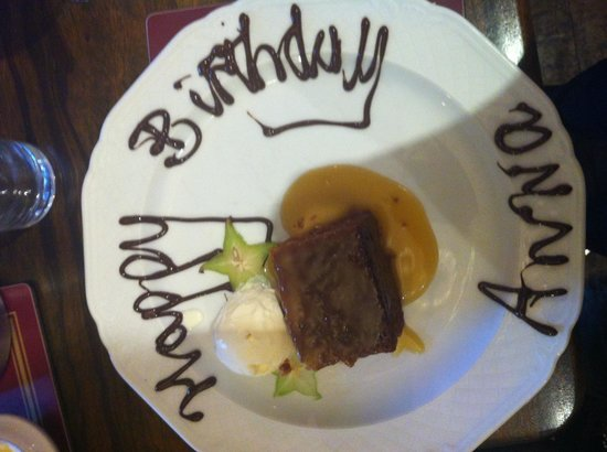 Cargill's Restaurant & Bistro : A lovely touch!