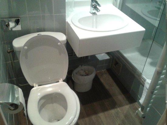 Timhotel Tour Eiffel: baño