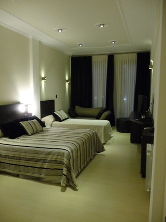 San Martin Plaza Hotel : Habitacion