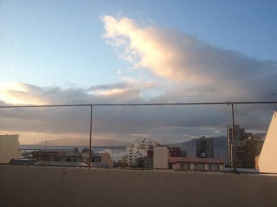 Reykjavik Backpackers: Zimmer mit Meerblick