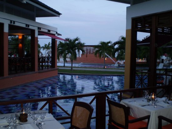 Royal Decameron Golf, Beach Resort & Villas: El Atlantis, uno de los comedores bufet.