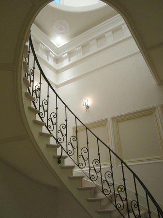 Casa Gangotena: Stairwell