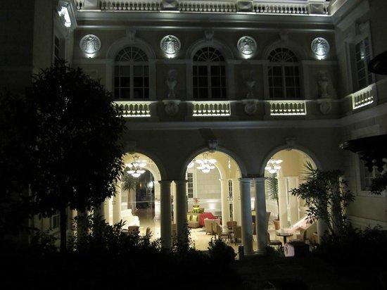 Casa Gangotena : View in from garden