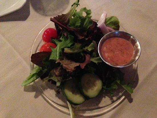 17 Hundred 90 Restaurant : salad