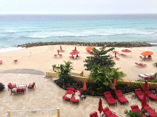 Ocean Two Resort & Residences: View from the 4th floor balcony