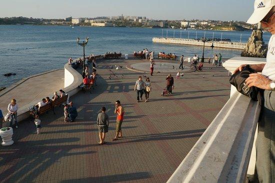 Best Western Sevastopol Hotel : At the sea promenade