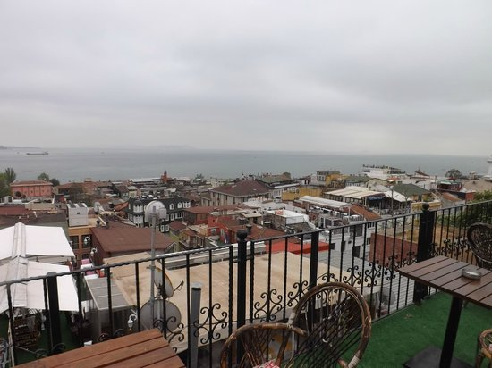 Antique Hostel - Guest House: View from the rooftop terrace