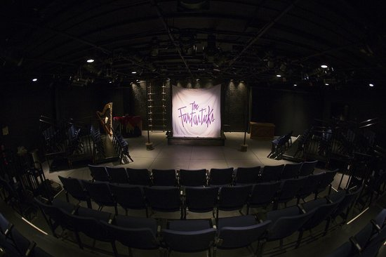 "Florida Repertory Theatre: ""the Fantasticks"" at Florida Rep. March/May 2013. Florida Rep's ArtStage Studio Theatre."