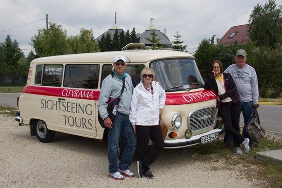 Cityrama Sightseeing Tours : Barkas minivan