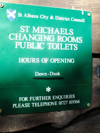 Verulamium Park: St Michael's Toilets,near to Verulamium Museum