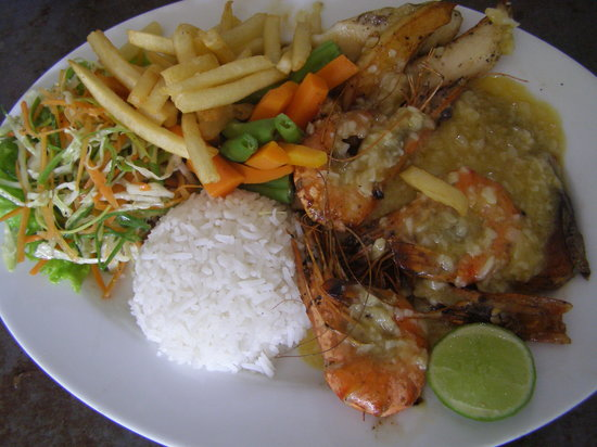 Honeypot Restaurant & Guest House: SEAFOOD MIXED GRILL