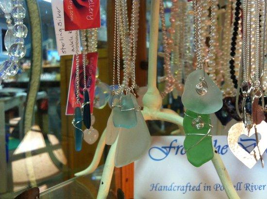 Creative Rift Studio & Gallery : local beach glass jewellery