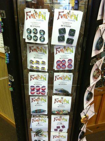 Creative Rift Studio & Gallery: Funky Fimo Buttons