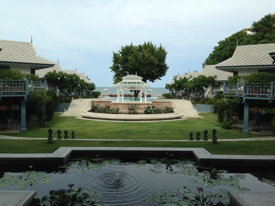 Devasom Hua Hin Resort: From the lobby