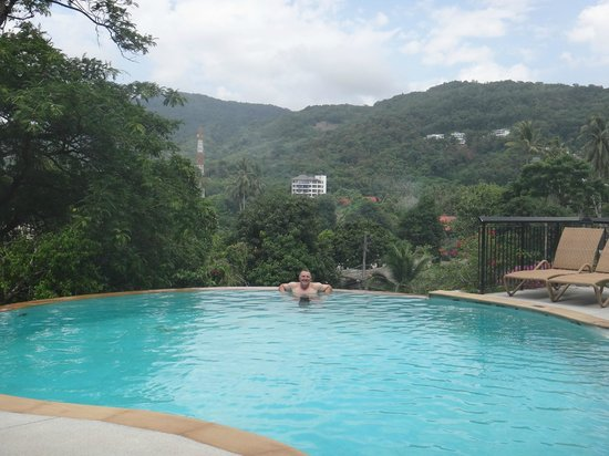 The Park Surin: View from pool access apartment