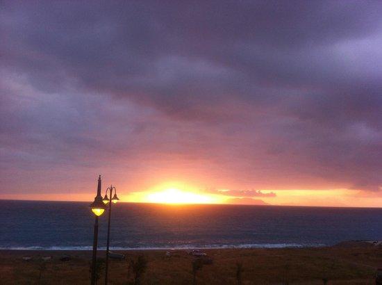 Albergo Esperia: Sunset