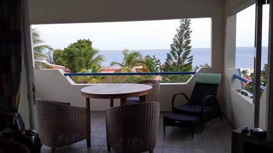 Caribbean Club Bonaire: View from the room