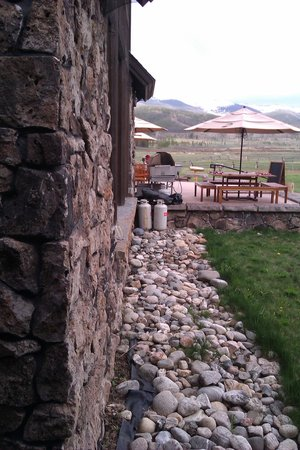Devil's Thumb Ranch Resort & Spa: View from Lodge Room #120