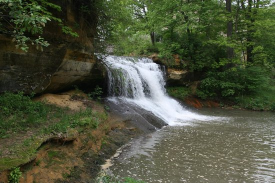 Winona, Μινεσότα: Pickwick Mill - Waterfall