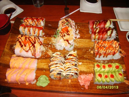 Fantastic menu, great atmosphere - Review of AI Fusion Sushi and