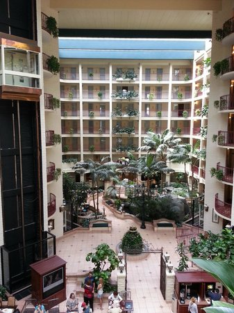 Embassy Suites by Hilton Arcadia Pasadena Area: Beautiful view