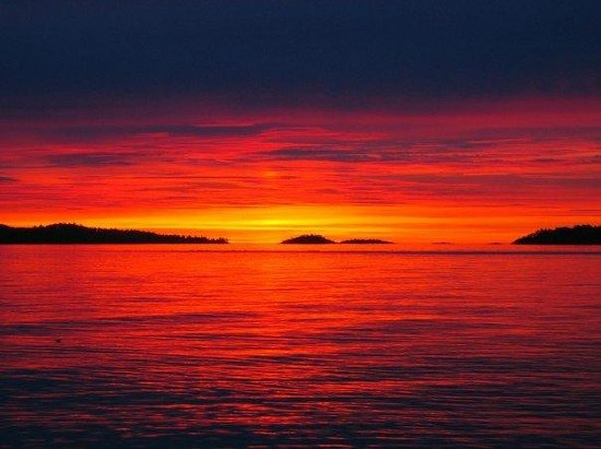 Discovery Expeditions Day Tours: Sunset on the coast