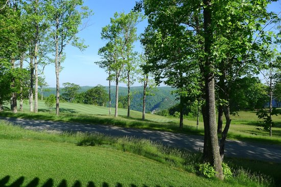 Primland: View from Cardinal East (faces west - great sunsets!)