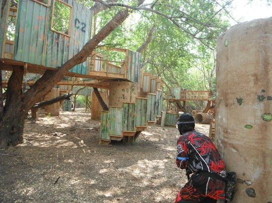Maui Paintball: Massive Forts!