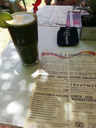 Living Juices : Green juice....YUMMM