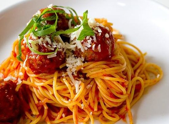 Al Dente Malaysian & Italian Cuisine: Spaghetti Meatball