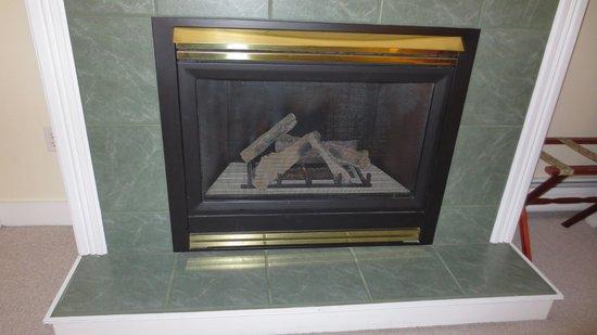 Red Clover Inn & Restaurant: fireplace