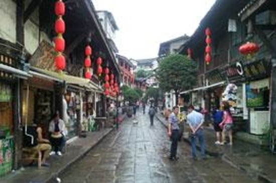 Chengdu Bamboo International Tours: Ciqikou Old Town in Chongqing