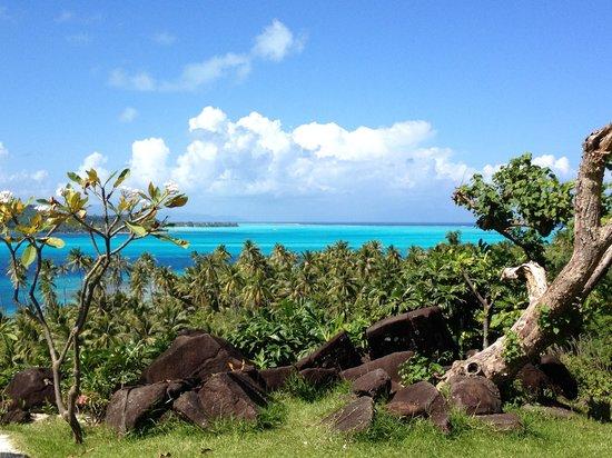 Conrad Bora Bora Nui: View from the Hina Spa