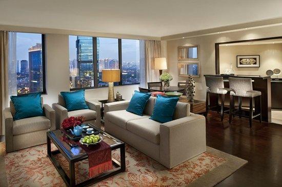 Mandarin Oriental Jakarta : Oriental Suite Living Room