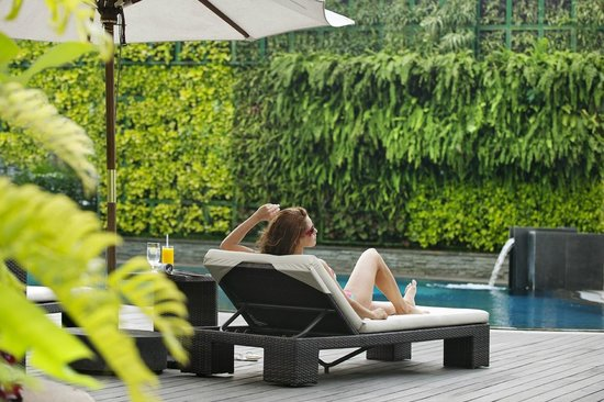 Mandarin Oriental Jakarta : Swimming Pool
