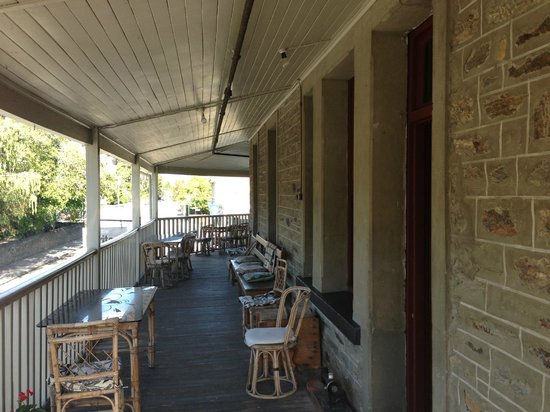 Dunstan House: On the verandah.