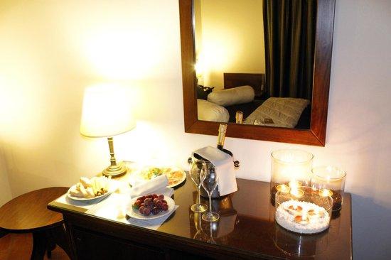 La Locanda della Franciacorta : Possibilità servizio in camera romantica