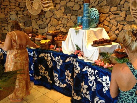 Tamure Grill: Breakfast buffet